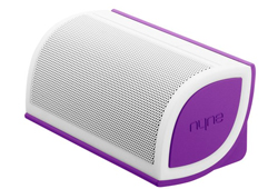 Nyne Mini Speaker Purple/White MINIPUR